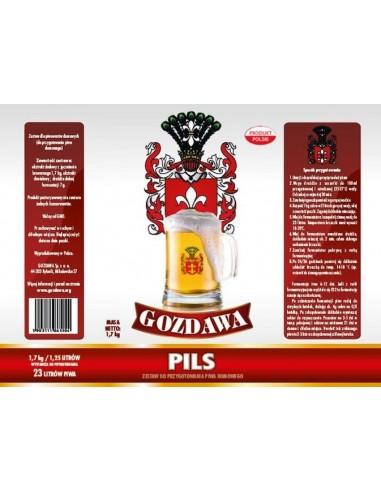 Gozdawa Pils - 1 - Piwo domowe