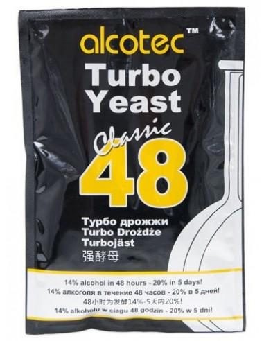 Drożdże gorzelnicze Alcotec 48 Turbo Classic - 1 - Gorzelnictwo i destylacja