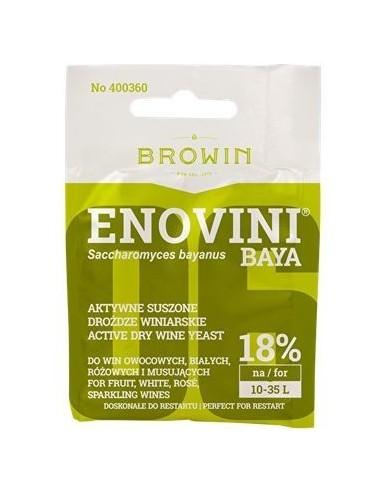 Drożdże winiarskie aktywne Enovini Baya