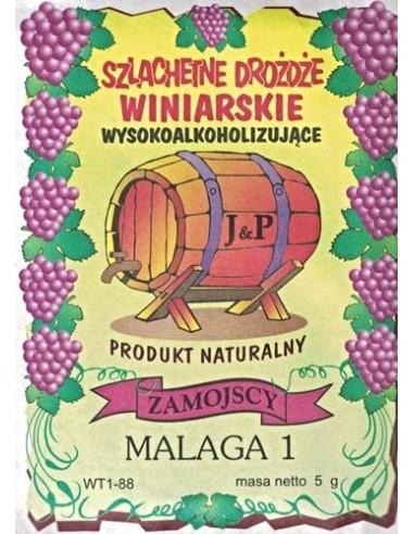 Drożdże winiarskie - Malaga - Zamojscy - 1 - Wino domowe