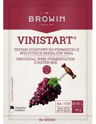 VINISTART - zestaw startowy do 50L wina