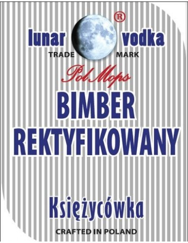 Etykieta BIMBER REKTYFIKOWANY
