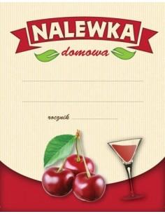 Etykieta NALEWKA DOMOWA...