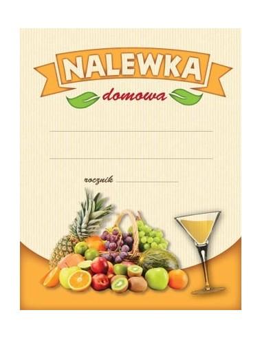 """Etykieta NALEWKA DOMOWA """"OWOCE JASNE"""" - 1 - Gorzelnictwo i destylacja"""