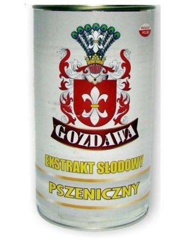 Ekstrakt słodowy płynny pszeniczny Gozdawa 1,7 kg - 1 - Piwo domowe
