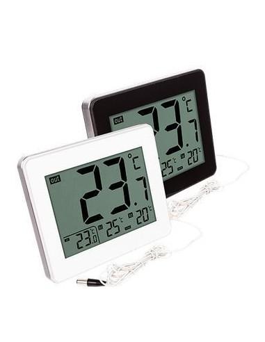 Stacja pogody - termometr z zegarem...