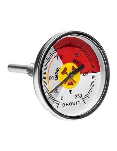 Termometr do wędzarni / grilla / BBQ - od 0 do 250°C - 1 - Inne