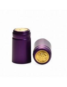Kapturki termokurczliwe do butelek - fioletowe 10x - 1 - Wino domowe