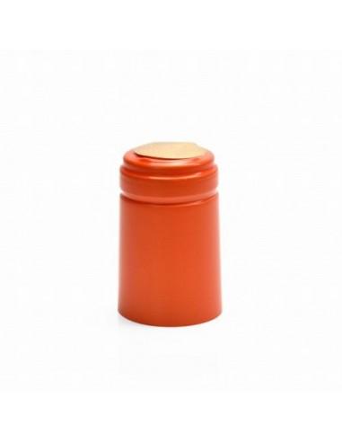 Kapturki termokurczliwe do butelek - pomarańczowe 10x - 1 - Wino domowe