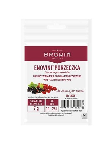 Drożdże winiarskie Enovini - suszone...