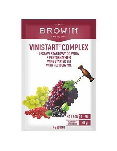 Zestaw startowy do wina - Vinistart Complex - 1 - Wino domowe