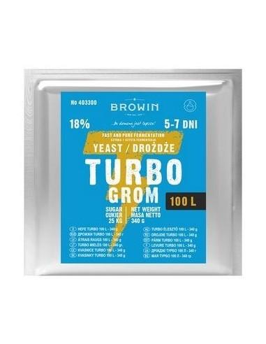 Drożdże gorzelnicze Turbo Grom - na 100L