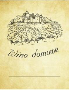 Etykieta WINO DOMOWE ZAMEK - WINNICA - 1 - Wino domowe