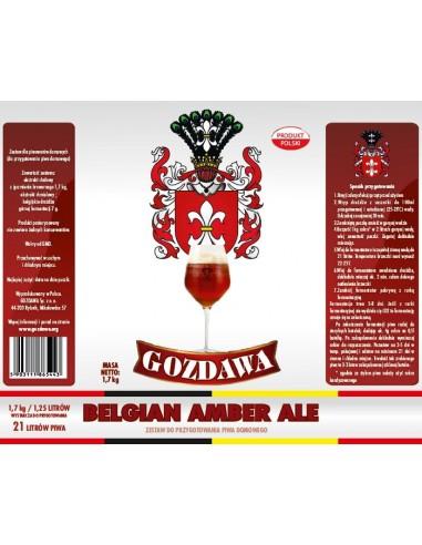 Koncentrat piwa Belgian Amber 1,7 kg