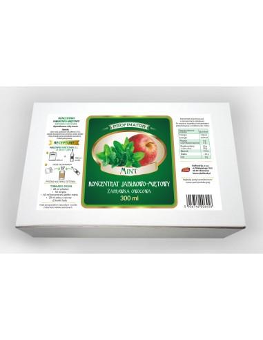 Koncentrat owocowy jabłkowo-miętowy 300ml - 1 - Strona główna