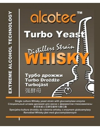 Drożdże gorzelnicze Alcotec Whisky do...