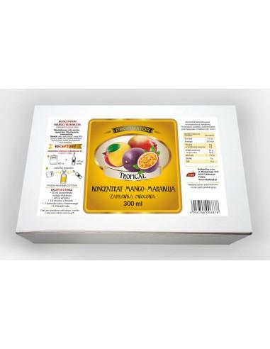 Koncentrat owocowy mango- marakuja 300ml - 1 - Strona główna