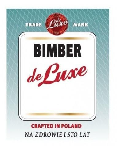 Etykieta BIMBER DE LUXE - 1 - Gorzelnictwo i destylacja