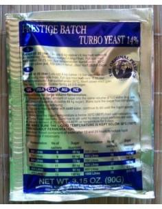 Drożdże gorzelnicze Prestige Batch Turbo Yeast 14% - 1 - Gorzelnictwo i destylacja