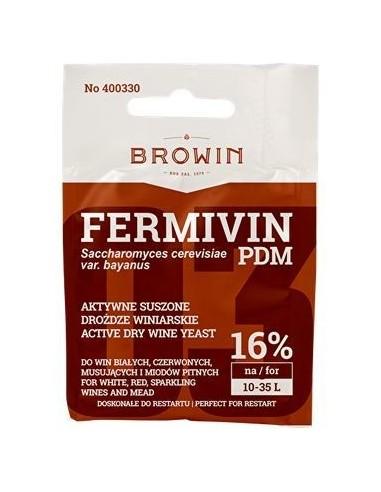 Drożdże winiarskie aktywne Fermivin PDM