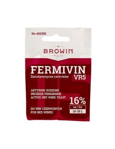 Drożdże winiarskie aktywne Fermivin VR5 - 1 - Wino domowe