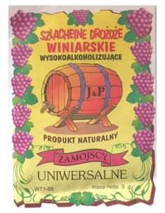Drożdże winiarskie -...