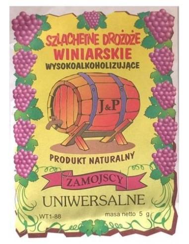 Drożdże winiarskie - Uniwersalne -...