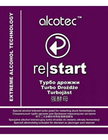 Drożdże do restartu - Alcotec ReStart