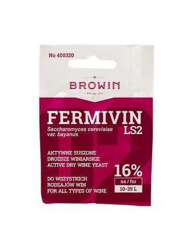 Drożdże winiarskie aktywne Fermicru LS2