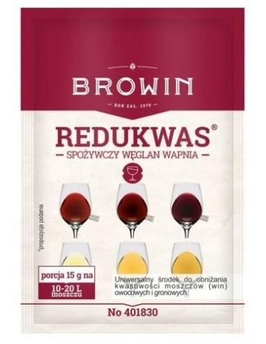 Redukwas - spożywczy węglan wapnia 15g - 1 - Wino domowe