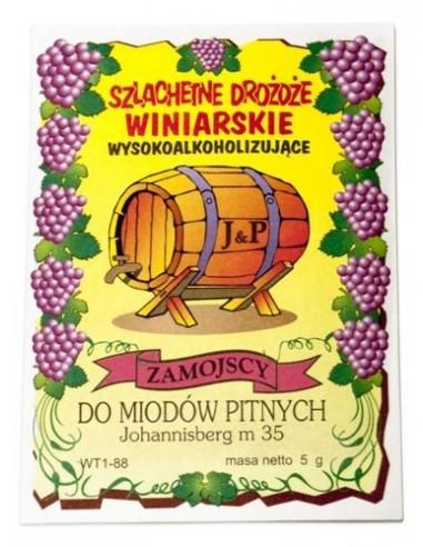Drożdże do miodu pitnego Johannisberg m 35 - Zamojscy - 1 - Inne