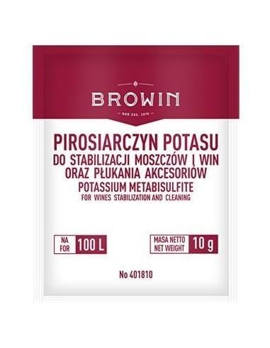 Pirosiarczyn potasu - 10 g - Biowin - 1 - Gorzelnictwo i destylacja