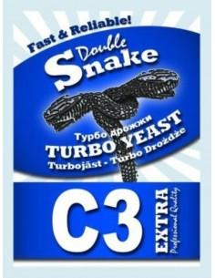 Drożdże gorzelnicze Double Snake Turbo C3 - 1 - Gorzelnictwo i destylacja