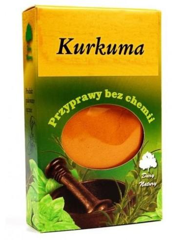 Kurkuma 50g - 1 - Przyprawy i zioła