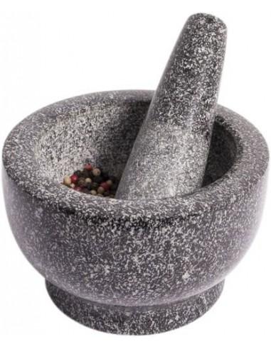 Granitowy moździerz kuchenny z tłuczkiem