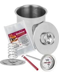Zestaw: szynkowar 1,5kg  termometr  20x worki - 1 - Wędliniarstwo
