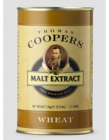 Pszeniczny ekstrakt słodowy Coopers - WHEAT - 1 - Piwo domowe
