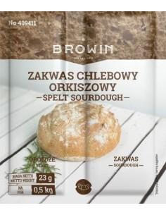 Zakwas chlebowy z drożdżami - orkiszowy 23g - 1 - Piekarstwo