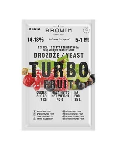 Drożdże gorzelnicze TurboFruit 5-7 dni